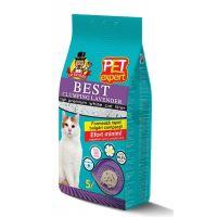 Nisip igienic Pet Expert Best Clumping Lavanda, 5 L