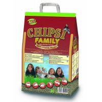 Asternut igienic pentru rozatoare si pasari Chipsi Family, 20l