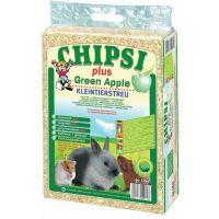 Asternut igienic rozatoare din talas Chipsi Green Apple, 60l