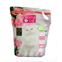 Crystal Cat Nisip Silicatic Trandafir, 3.8 l