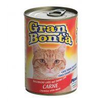 Conserva pentru pisici Gran Bonta cu Carne, 400 g