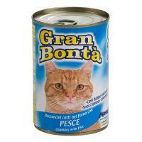 Conserva pentru pisici Gran Bonta cu Peste, 400 g