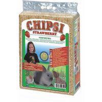 Asternut igienic rozatoare din talas Chipsi Strawberry, 60l