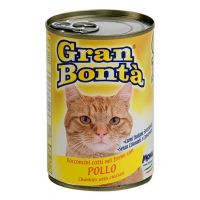 Conserva pentru pisici Gran Bonta cu Pui, 400 g