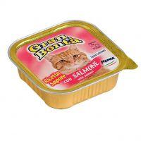 Pate pentru pisici Gran Bonta cu Somon, 100 g