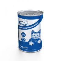 Mitzura Cat Conserva Peste, 415 g