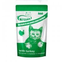 Mitzura Plic pentru Pisici cu Curcan, 100 g
