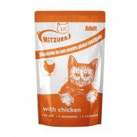 Mitzura Plic pentru Pisici cu Pui, 100 g