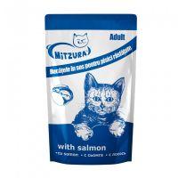 Mitzura Plic pentru Pisici cu Somon, 100 g
