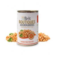 Hrana Umeda Conserva Brit Boutiques Gourmandes bucatele de Pui in sos, 400g