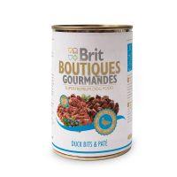Hrana Umeda Conserva Brit Boutiques Gourmandes bucatele de Rata, 400g