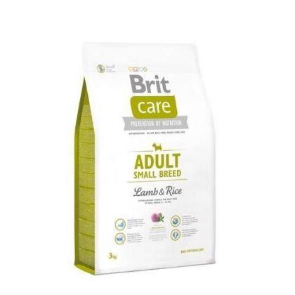 Hrana uscata pentru caini Brit Care Adult Small Breed Miel si Orez, 3 Kg