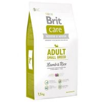 Hrana uscata pentru caini Brit Care Adult Small Breed Miel si Orez, 7.5 Kg
