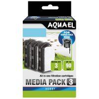 Burete filtru Aquael Versamax Mini, 3 Buc