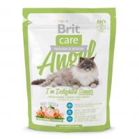 Hrana uscata pentru pisici Brit Care Cat Angel Delighted Senior, 0.4 Kg