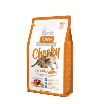 Hrana uscata pentru pisici Brit Care Cat Cheeky Living Outdoor, 7 Kg