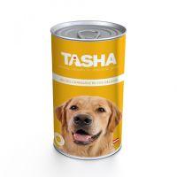 Hrana umeda pentru Caini Tasha Dog Conserva Curcan, 1240g