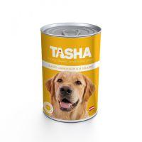 Hrana umeda pentru Caini Tasha Dog Conserva Curcan, 415g