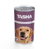 Hrana umeda pentru Caini Tasha Dog Conserva Ficat, 1240g