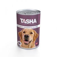 Hrana umeda pentru Caini Tasha Dog Conserva Ficat, 415g