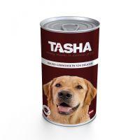 Hrana umeda pentru Caini Tasha Dog Conserva Vita, 1240g