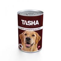 Hrana umeda pentru Caini Tasha Dog Conserva Vita, 415g