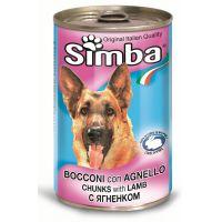Hrana umeda pentru Caini Simba Dog Conserva Miel, 1230g