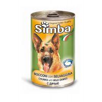 Hrana umeda pentru Caini Simba Dog Conserva cu Vanat, 415g