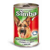 Hrana umeda pentru Caini Simba Dog Conserva cu Vitel, 1230g