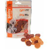 Recompense pentru Caini Proline Boxby Chip Mix cu Pui si Vita, 75g