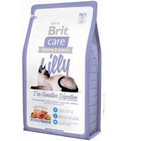 Hrana uscata pentru pisici Brit Care Lilly Sensitive Digestion, 7 Kg + 2 Kg Gratis