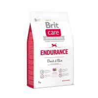 Hrana uscata pentru caini Brit Care Endurance cu Rata si Orez, 3 Kg