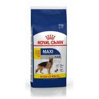 Royal Canin Maxi Adult, 15 Kg + 3 Kg Gratis