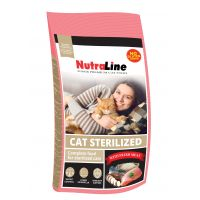 Hrana uscata pentru pisici, Nutraline Cat Sterilized, 400 g