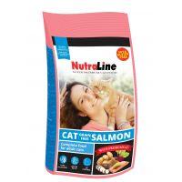 Hrana uscata pentru pisici, Nutraline Cat Grain Free Somon, 10 Kg