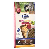 Hrana uscata pentru caini, Bosch Adult Mini Miel si Orez, 15 Kg