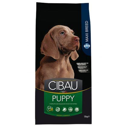 Hrana uscata pentru caini Cibau Puppy Maxi, 12 Kg