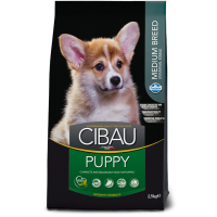Hrana uscata pentru caini Cibau Puppy Medium, 2.5 Kg