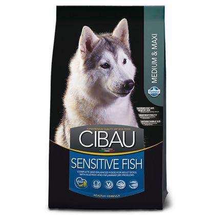 Hrana uscata pentru caini Cibau Sensitive Fish Medium/Maxi, 12 Kg