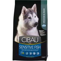 Hrana uscata pentru caini Cibau Sensitive Fish Medium/Maxi, 2.5 Kg