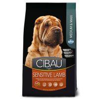 Hrana uscata pentru caini Cibau Sensitive Lamb Medium/Maxi, 12 Kg