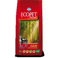 Hrana uscata pentru caini Ecopet Natural Adult Maxi, 12 Kg