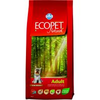 Hrana uscata pentru caini Ecopet Natural Adult Mini, 12 Kg