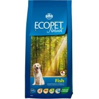 Hrana uscata pentru caini Ecopet Natural Fish Maxi, 12 Kg