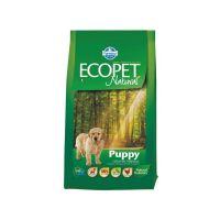 Hrana uscata pentru caini Ecopet Natural Puppy Medium, 2.5 Kg