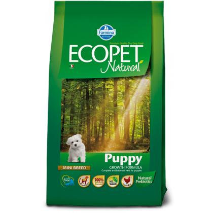 Hrana uscata pentru caini Ecopet Natural Puppy Mini, 12 Kg