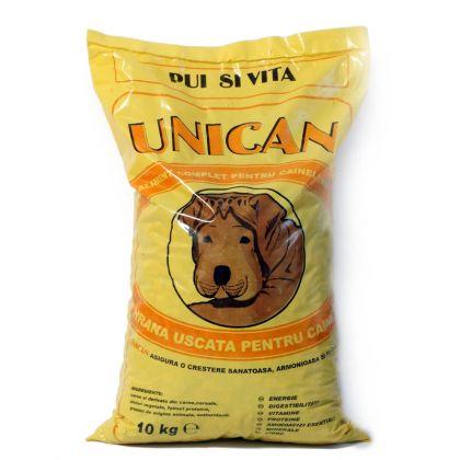 Hrana uscata pentru caini, Unican cu Pui si Vita, 10 Kg