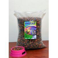 Hrana uscata pentru pisici, Unicat cu pui, vita si legume, 2 Kg