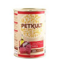 Hrana umeda pentru caini Petkult Adult Dog Vita, 800g