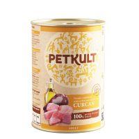 Hrana umeda pentru caini Petkult Adult Dog Curcan, 800g